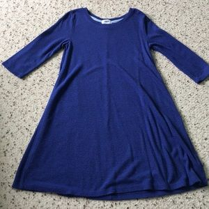 Blue old navy sweater dress